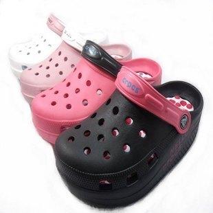 坡跟凉鞋 特价!凉鞋坡跟女款坡跟凉鞋 摇摆鞋洞洞鞋 沙滩鞋_推荐淘宝好看的女坡跟凉鞋