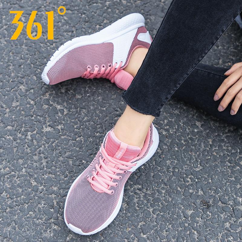 361度运动鞋正品 361女鞋跑步鞋2021新款夏季正品休闲鞋网面透气学生361度运动鞋女_推荐淘宝好看的女361度运动鞋