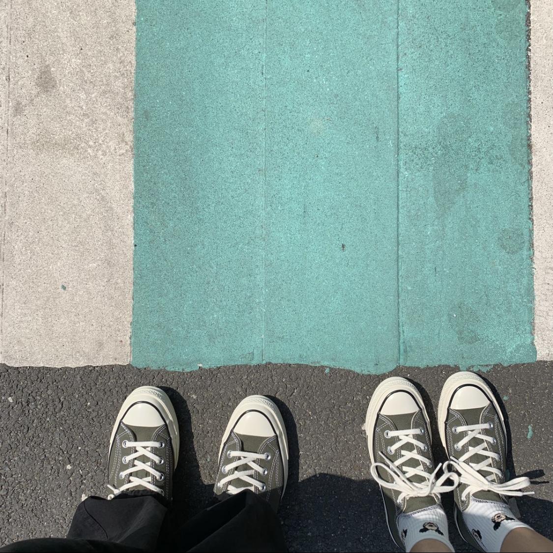 绿色运动鞋 Converse匡威Chuck 70复古运动休闲帆布鞋灰绿色162052C 162060C_推荐淘宝好看的绿色运动鞋