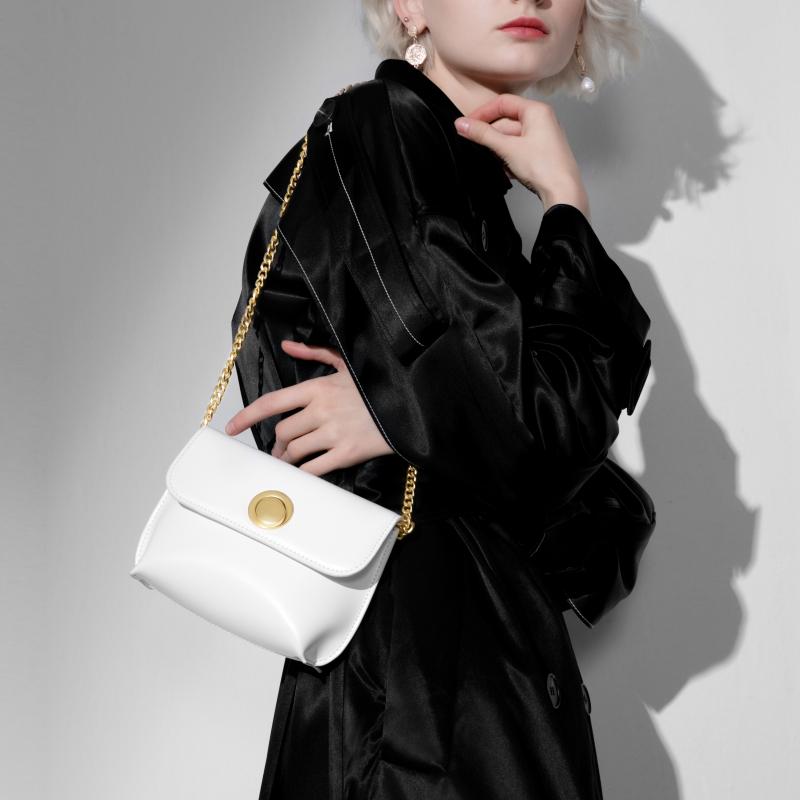 白色链条包 INJOYLIFE2021新款链条包小包包白色小众女包迷你mini单肩斜挎包_推荐淘宝好看的白色链条包