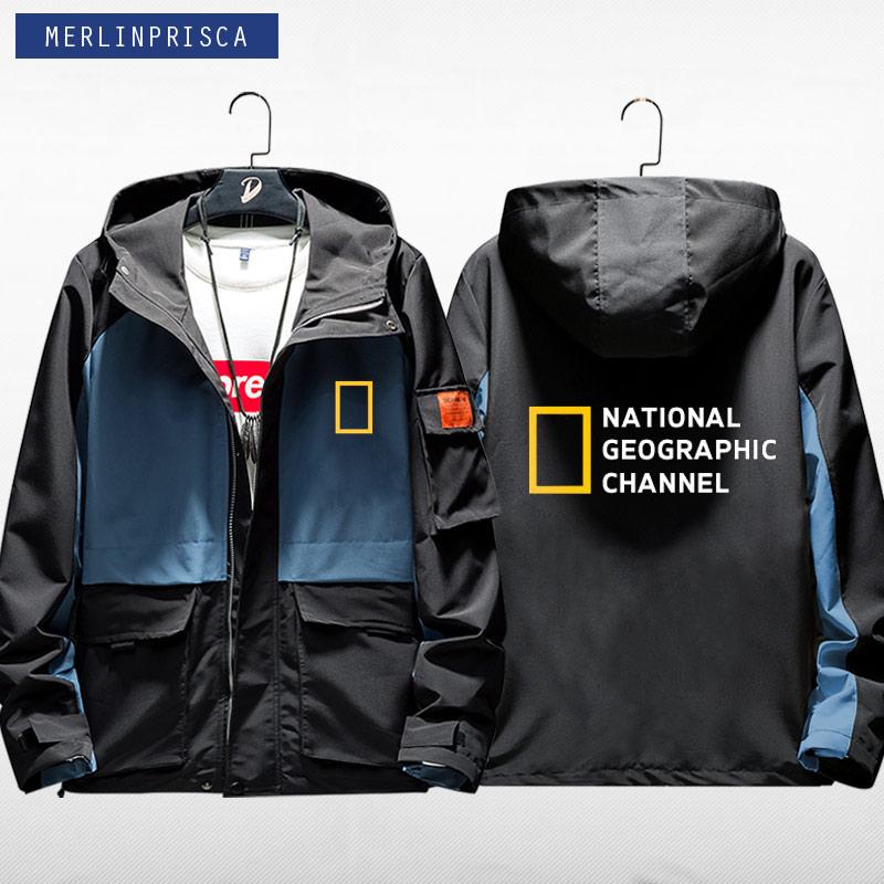 男士长袖卫衣 国家地理频道探索发现频道连帽夹克休闲男女卫衣外套长袖衣服_推荐淘宝好看的男长袖卫衣