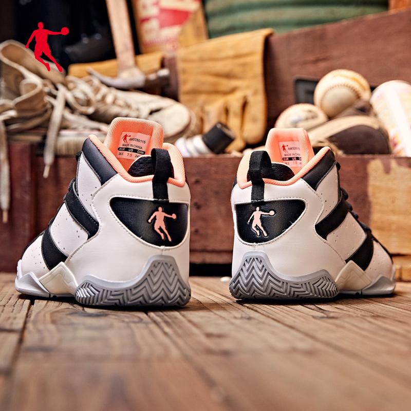 乔丹运动鞋 乔丹篮球鞋女鞋2021夏季新款学生球鞋女生时尚潮篮正品高帮运动鞋_推荐淘宝好看的女乔丹运动鞋
