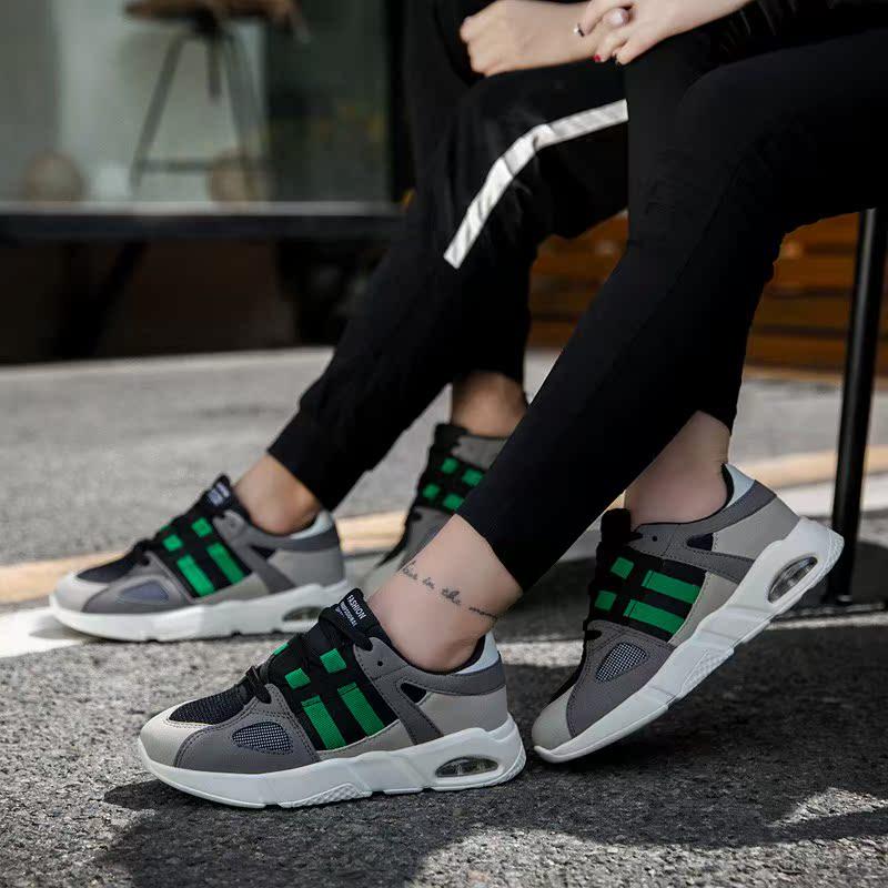 耐克运动鞋新款 轩尧耐克泰情侣运动鞋子2021秋季新款潮鞋韩版百搭一男一女跑步鞋_推荐淘宝好看的女耐克运动鞋新款