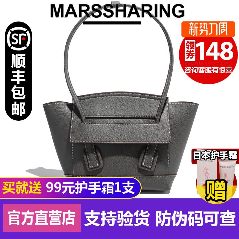 绿色手提包 日本小众品牌MRAS蝙蝠包包大容量手提斜挎日剧包百搭腋下_推荐淘宝好看的绿色手提包