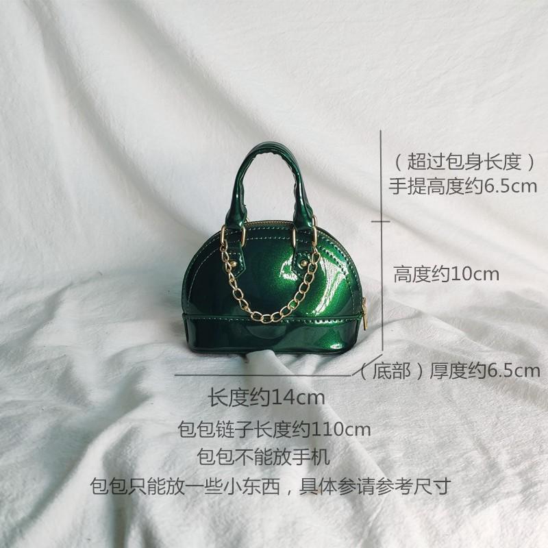 绿色迷你包 少女儿童迷你小包包女2020新款潮韩版百搭简约斜挎包春夏绿色系列_推荐淘宝好看的绿色迷你包