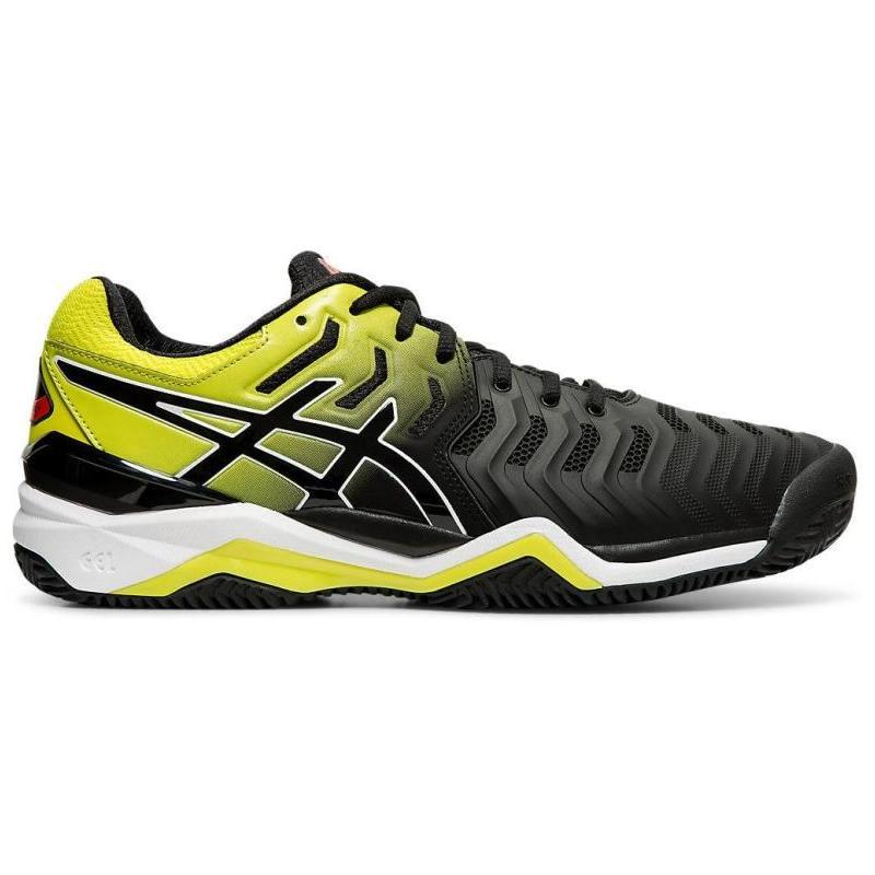 网球鞋 Asics亚瑟士男子运动网球鞋低帮减震系带吸汗耐磨美国直邮A707_推荐淘宝好看的男网球鞋