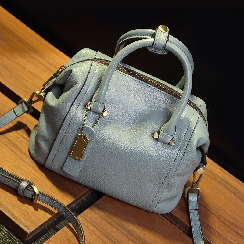 欧美时尚手提包 女士包包2019新款波士顿大包欧美大牌女士手提包斜挎单肩包枕头包_推荐淘宝好看的女欧美手提包