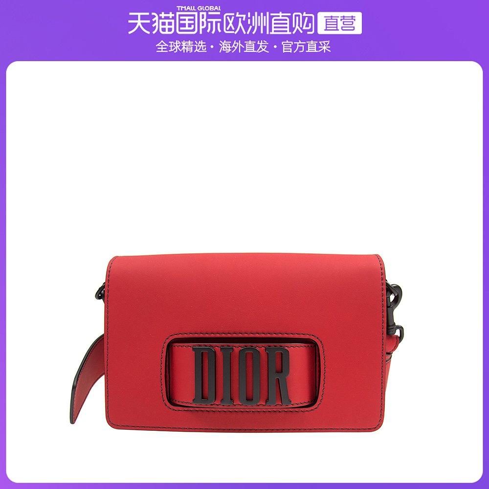 迪奥手提包 香港直邮Dior 迪奥 女士哑光小牛皮翻盖式手提包 M8000SLOM-927_推荐淘宝好看的迪奥手提包