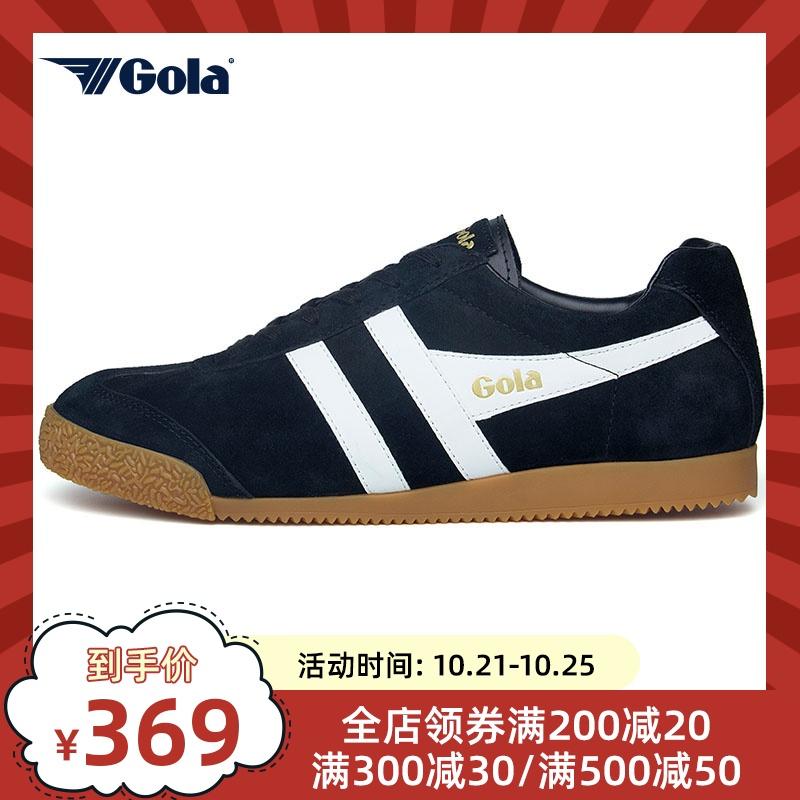 运动鞋 GOLA新款男女款经典复古舒适透气运动休闲鞋撞色英伦潮鞋CMA192AL_推荐淘宝好看的运动鞋