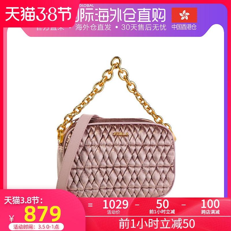 粉红色手提包 香港直邮Furla 芙拉 女士粉红色手提单肩包 993081_推荐淘宝好看的粉红色手提包