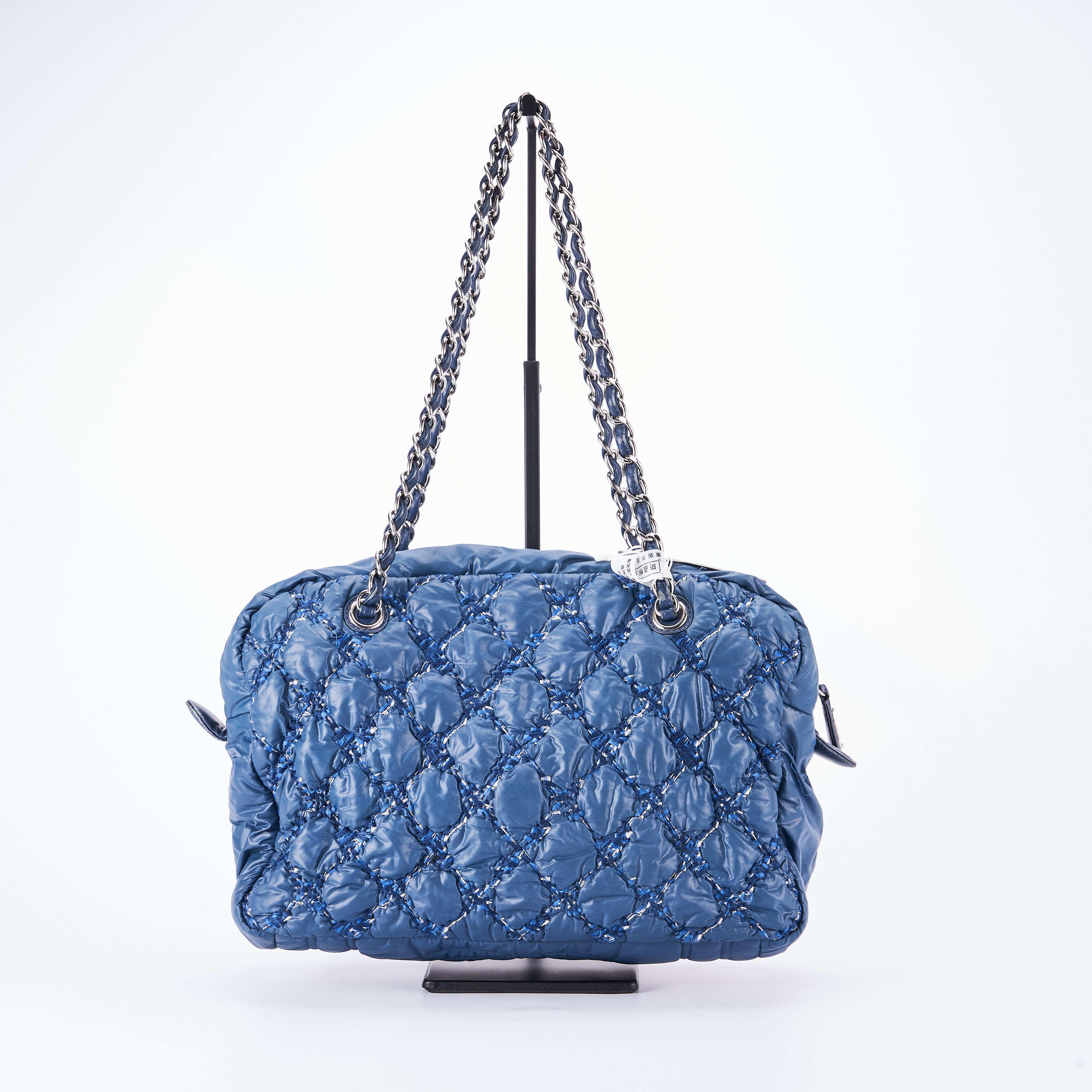 chanel链条包 【95新】Chanel香奈儿 链条单肩包 32*22 公价¥15800_推荐淘宝好看的chanel链条包