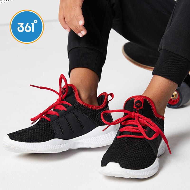 361度运动鞋正品 361度童鞋男女童鞋子2020春季网面跑鞋中大童休闲鞋儿童运动鞋_推荐淘宝好看的女361度运动鞋