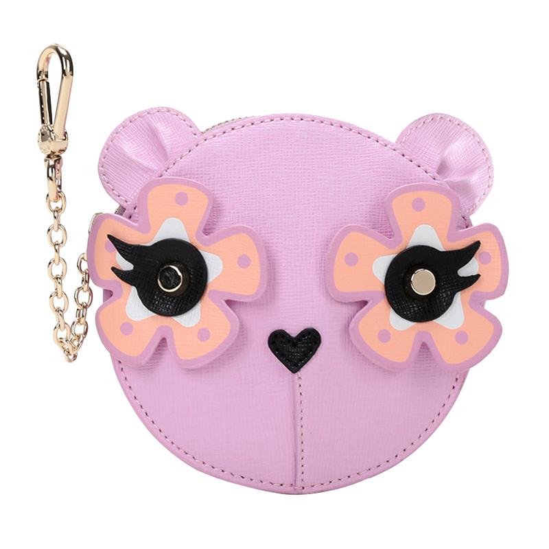 紫色钱包 Furla芙拉CHARME系列女士零钱包挂饰紫色922557官方_推荐淘宝好看的紫色钱包