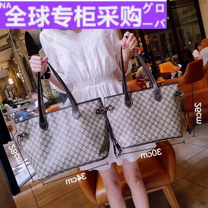 女式真皮手提包 日本GH香港品牌真皮2020新款潮流托特包网红大容量单肩手提包女气_推荐淘宝好看的女真皮手提包