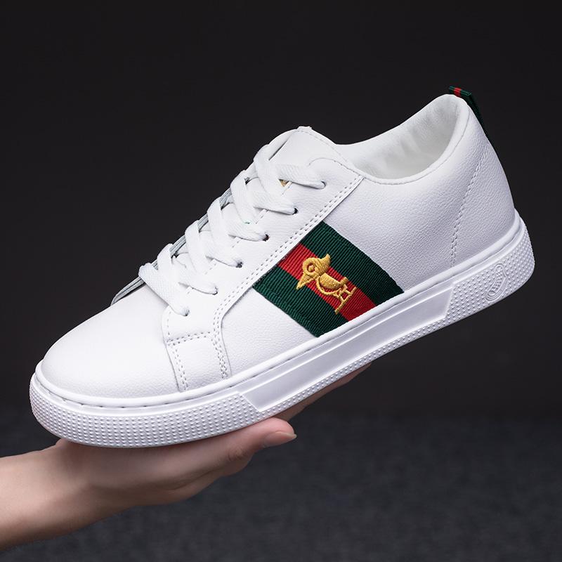 白色运动鞋 Plover情侣男女小白鞋男板鞋夏季网面透气运动鞋潮鞋白色休闲鞋男_推荐淘宝好看的白色运动鞋