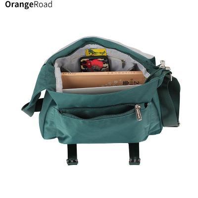 绿色邮差包 邮差包挎包学生尼龙包绿色单肩包斜跨包休闲包斜挂包斜挎包女包包_推荐淘宝好看的绿色邮差包