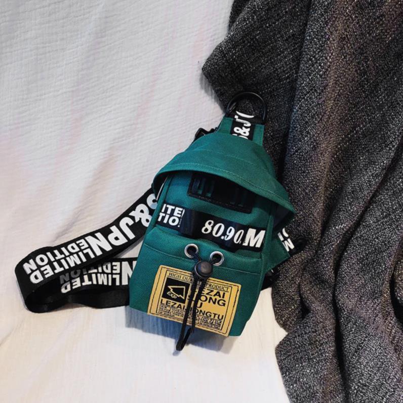 绿色迷你包 高中生学生小包包女斜挎包胸包帆布绿色迷你文艺时尚女士粉色简约_推荐淘宝好看的绿色迷你包