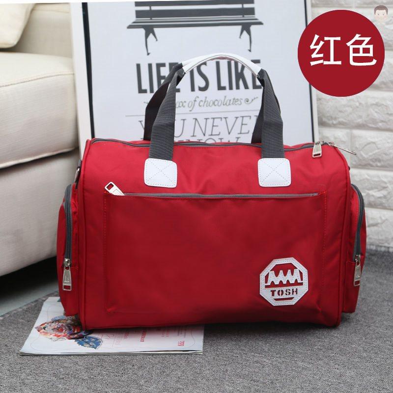 女式英伦手提包 折叠袋子箱包袋包旅游旅行袋手手提包女大提包箱袋英伦行旅红女杆_推荐淘宝好看的女英伦手提包