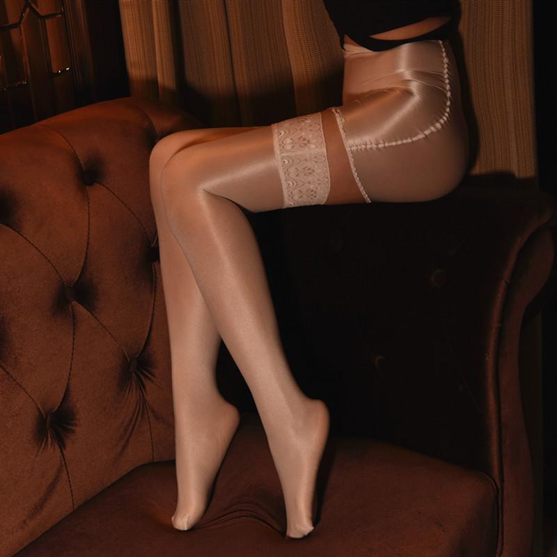 制服丝袜 情趣紧身包臀丝袜短裙 70D长筒舍宾袜丝滑性感透明制服套装男薄款_推荐淘宝好看的制服丝袜
