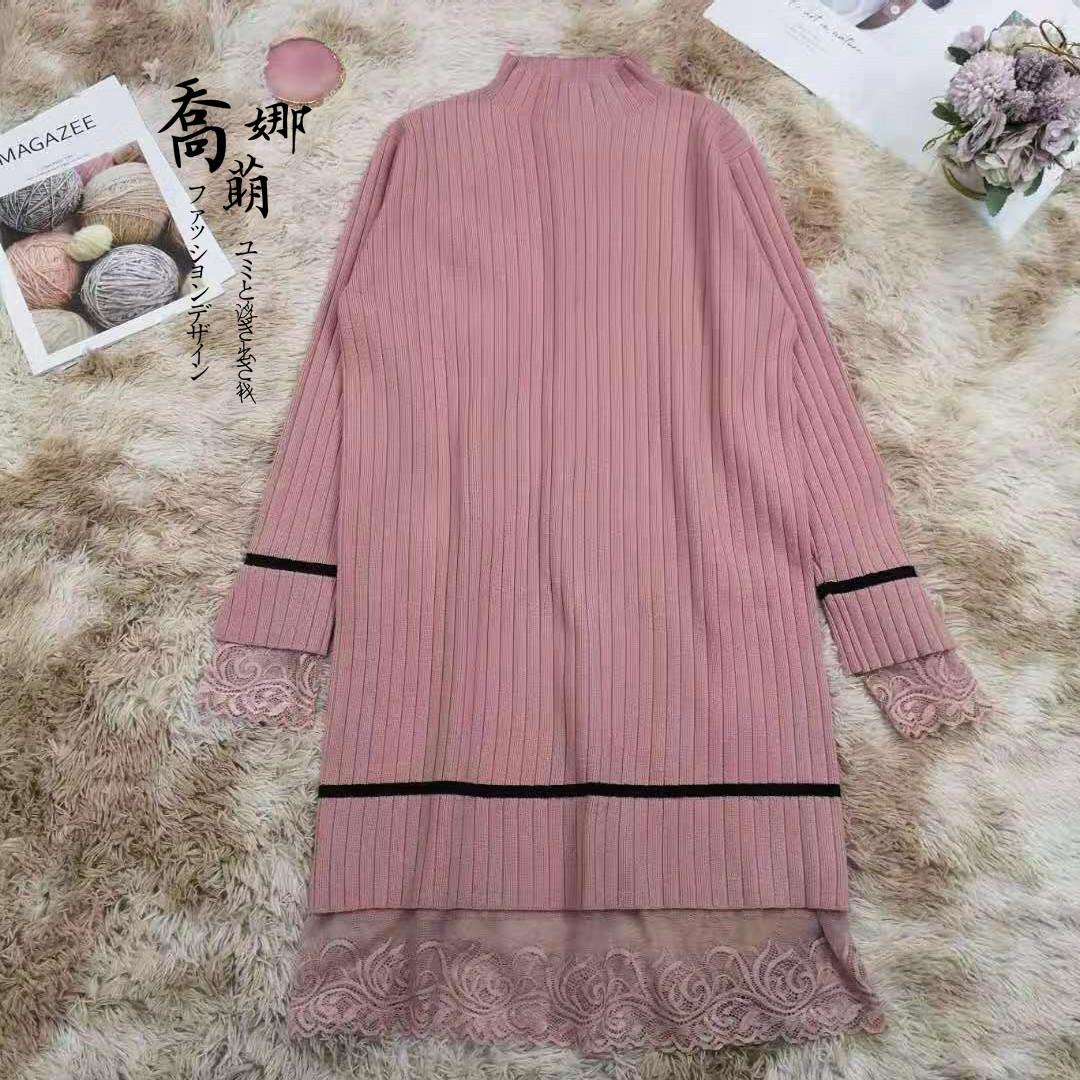 蕾丝连衣裙 下摆蕾丝拼接连衣裙H1022692_推荐淘宝好看的蕾丝连衣裙