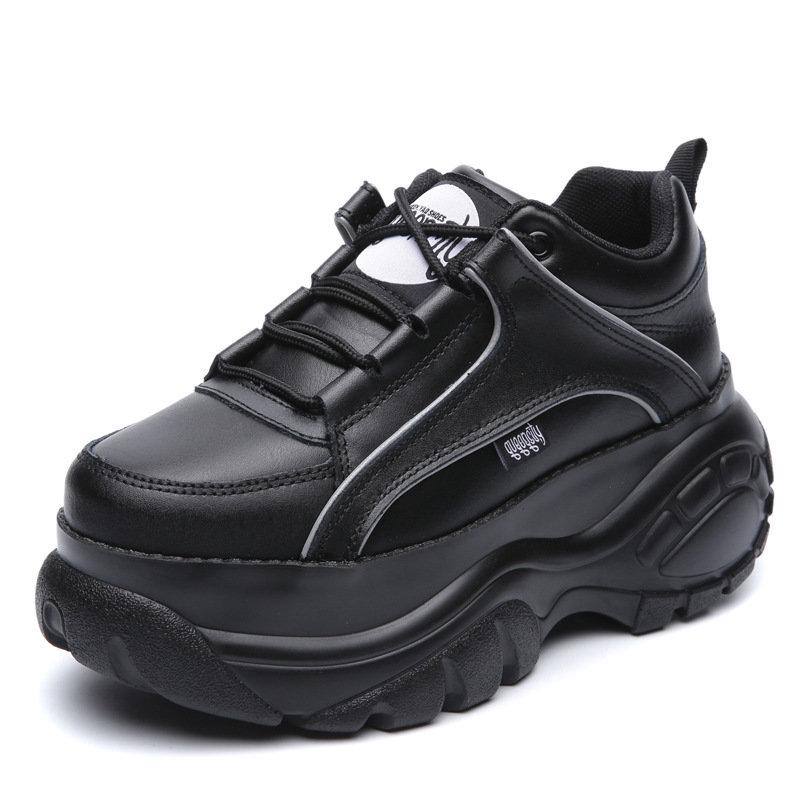 欧美松糕鞋 2489INS厚底欧美运动鞋女原宿复古老爹松糕鞋休闲韩版小白鞋_推荐淘宝好看的女欧美松糕鞋