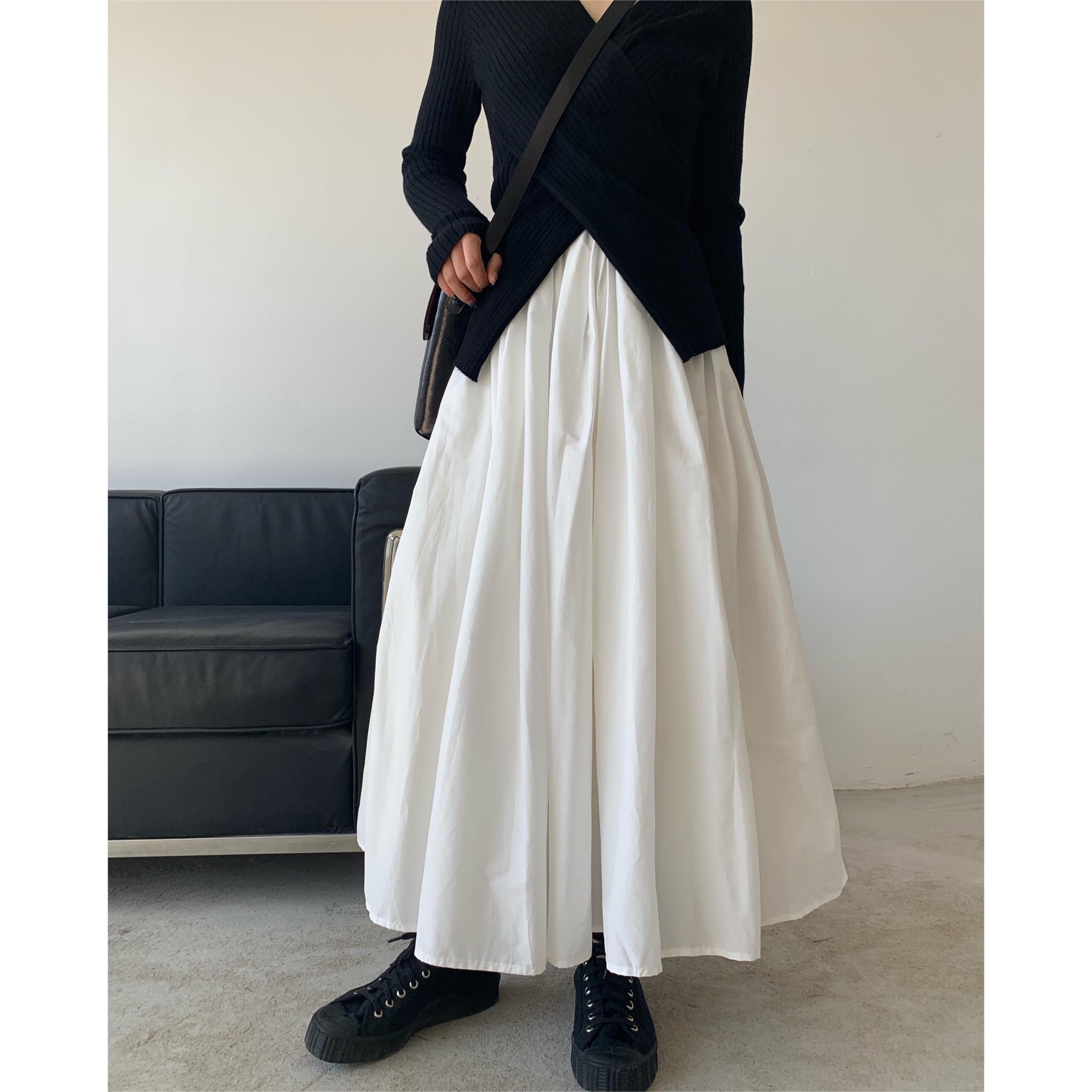 白色半身裙 拖延症  强推 自制内里拼纱重工蓬蓬白裙 超A白色半身裙_推荐淘宝好看的白色半身裙