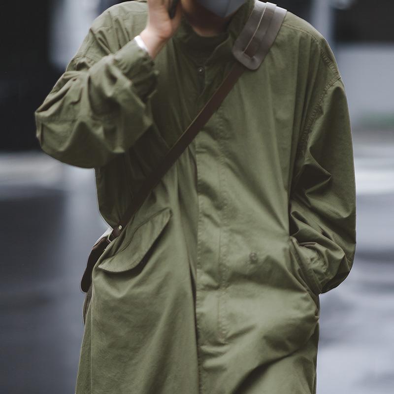 男士风衣 马登工装 美式复古二战M51战壕派克服鱼尾风衣长款大衣斗篷外套男_推荐淘宝好看的男风衣