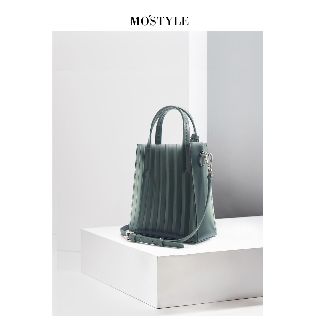 绿色手提包 新款2020绿色透明真皮果冻包包女斜挎个性单肩百搭手提网红同款潮_推荐淘宝好看的绿色手提包