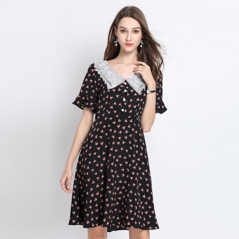 高档女装品牌连衣裙 品牌专柜清仓76159_推荐淘宝好看的品牌连衣裙