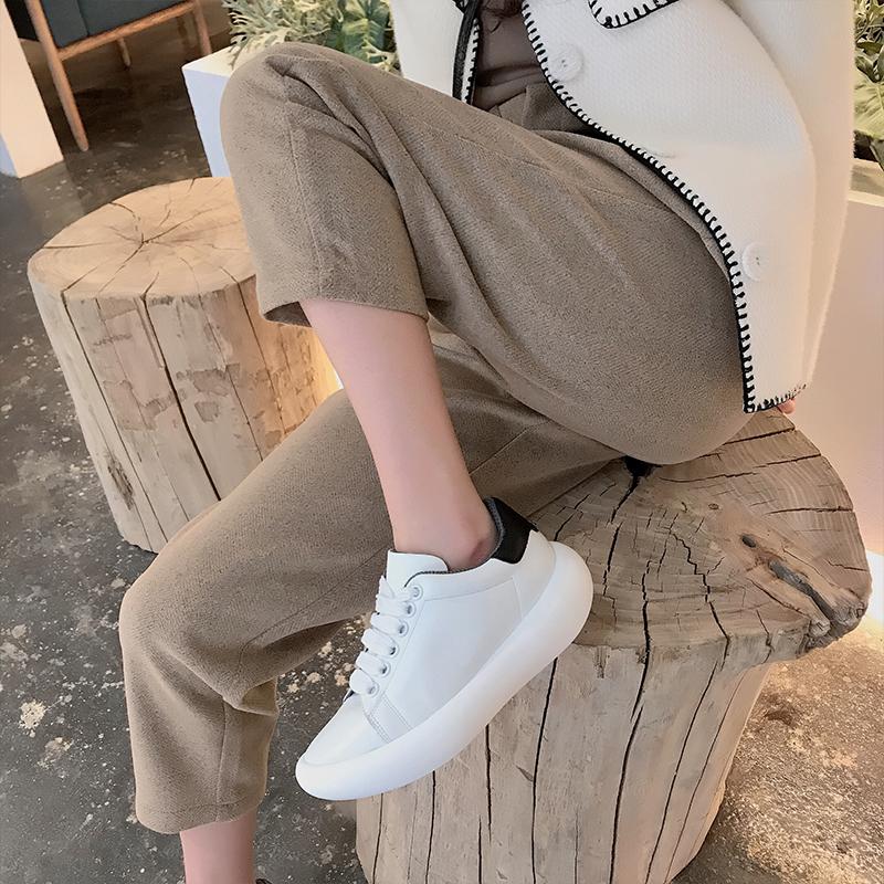 香蕉松糕鞋 【猫猫家】小白鞋女2020新款ins超火香蕉鞋松糕底增高摇摇鞋女_推荐淘宝好看的女香蕉松糕鞋