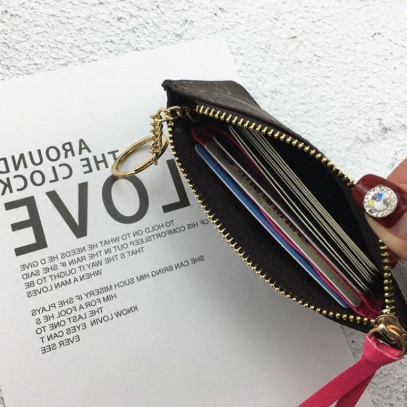 lv女士钱包 lvоehimkiss新款小零钱包女短款硬币钥匙包复古超薄袋时尚卡夹潮_推荐淘宝好看的女lv女钱包