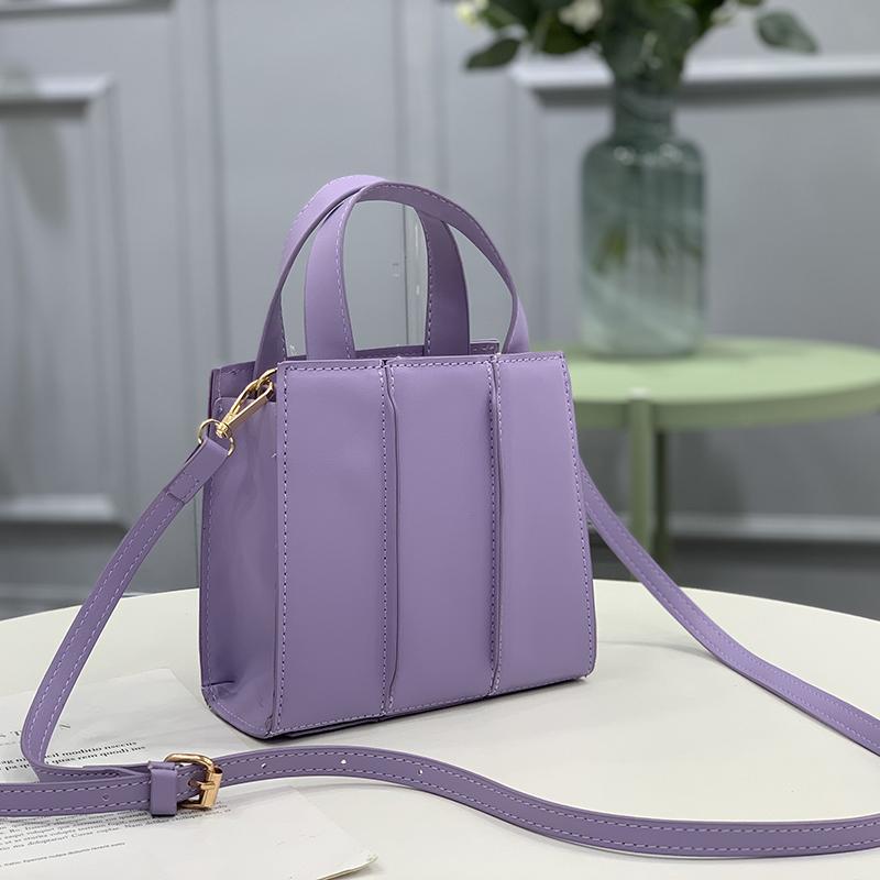 紫色迷你包 紫色包包宋妍霏明星同款女包2021新款时尚迷你小包手提单肩斜挎包_推荐淘宝好看的紫色迷你包