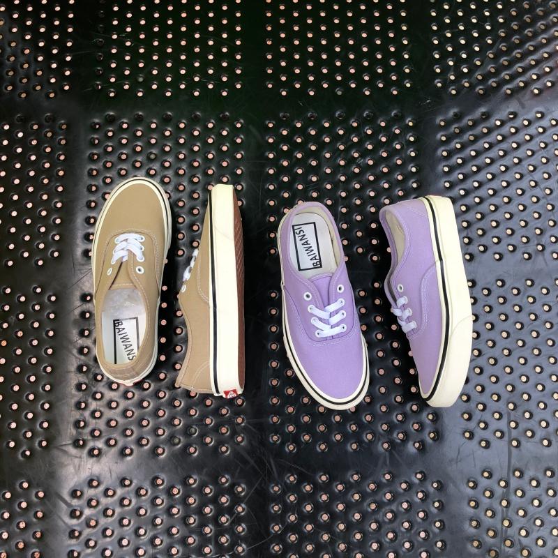 紫色帆布鞋 白万斯帆布鞋紫色安纳海姆香芋紫低帮卡其色era男鞋女鞋_推荐淘宝好看的紫色帆布鞋