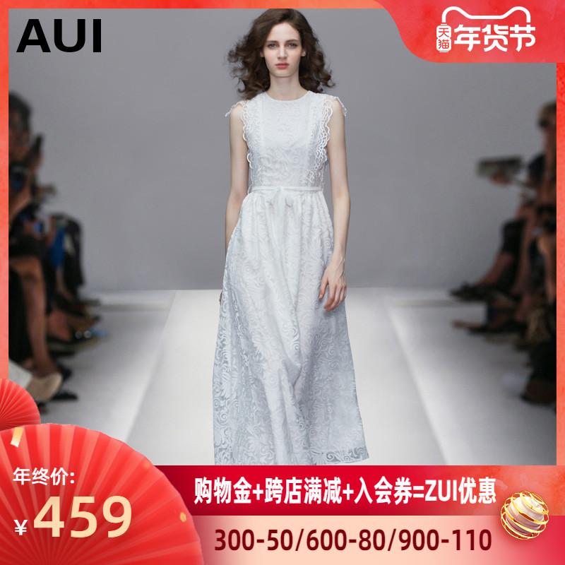 白色连衣裙 2020新款气质长款裙子仙女超仙森系脚踝长裙白色雪纺连衣裙女夏潮_推荐淘宝好看的白色连衣裙