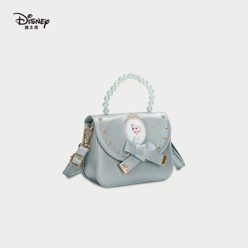 时尚手提包 迪士尼包包女2020新款时尚百搭斜挎包可爱卡通单肩包小清新手提包_推荐淘宝好看的女时尚手提包