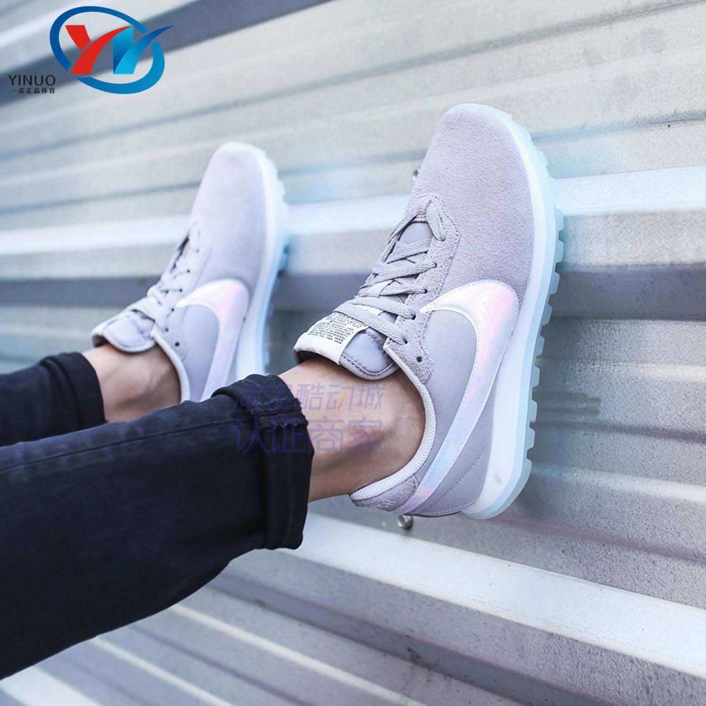 耐克女式运动鞋 Nike耐克PRE-LOVE O.X.镭射彩虹勾女子运动休闲跑步鞋 AO3166-001_推荐淘宝好看的女耐克女运动鞋