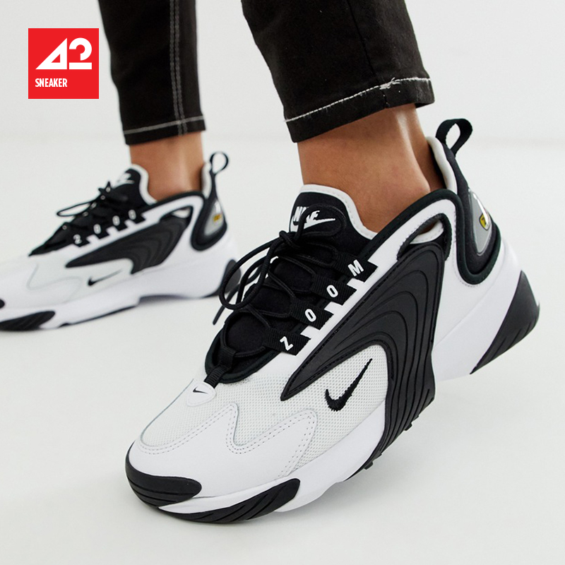 耐克老款运动鞋 现货42运动Nike Zoom 2K 男女 复古老爹鞋 AO0269-101 AO0354-100_推荐淘宝好看的女耐克运动鞋