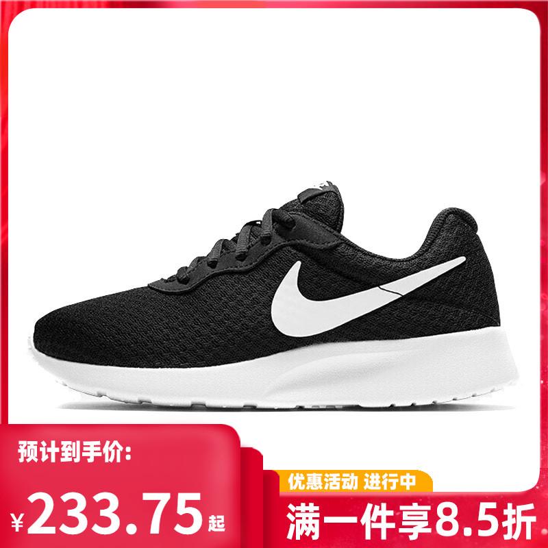 耐克运动鞋新款 Nike耐克2021秋季新款TANJUN经典低帮男女运动休闲鞋812654-011_推荐淘宝好看的女耐克运动鞋新款