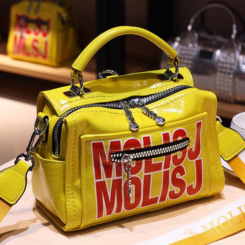黄色双肩包 专柜品质女包双肩多用2021新款包欧洲站高级洋气质感欧货包包黄色_推荐淘宝好看的黄色双肩包