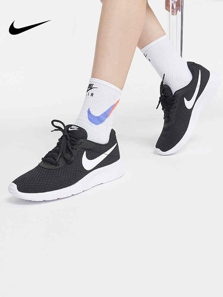 耐克运动鞋 耐克女鞋tanjun奥利奥轻便网面透气休闲运动鞋812655-011_推荐淘宝好看的女耐克运动鞋