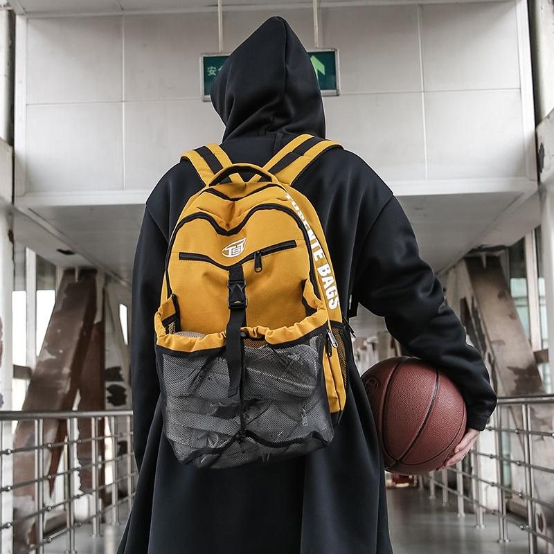 户外双肩包 多功能大容量足篮球排球训练运动双肩背包男女户外休闲鞋便携健身_推荐淘宝好看的女户外双肩包