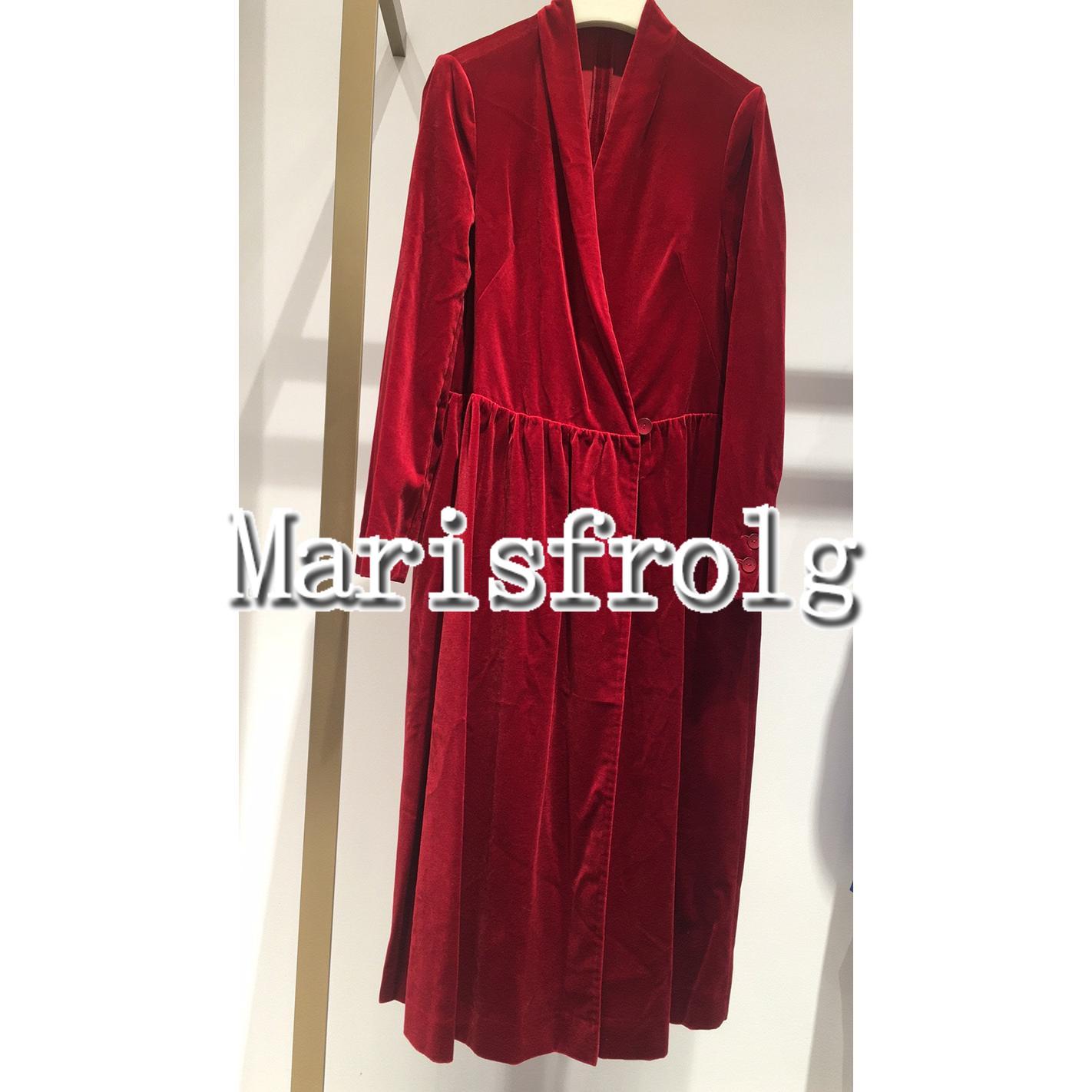 玛丝菲尔女装折扣 国内代购 玛丝菲尔2020春新专柜正品新款连衣裙女A1JS42008--2980_推荐淘宝好看的玛丝菲尔折扣