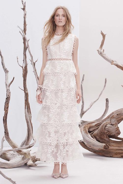 白色无袖连衣裙 2882#ALU 白色蕾丝公主蛋糕裙刺绣礼服连衣裙夏无袖长款蓬蓬裙_推荐淘宝好看的白色无袖连衣裙