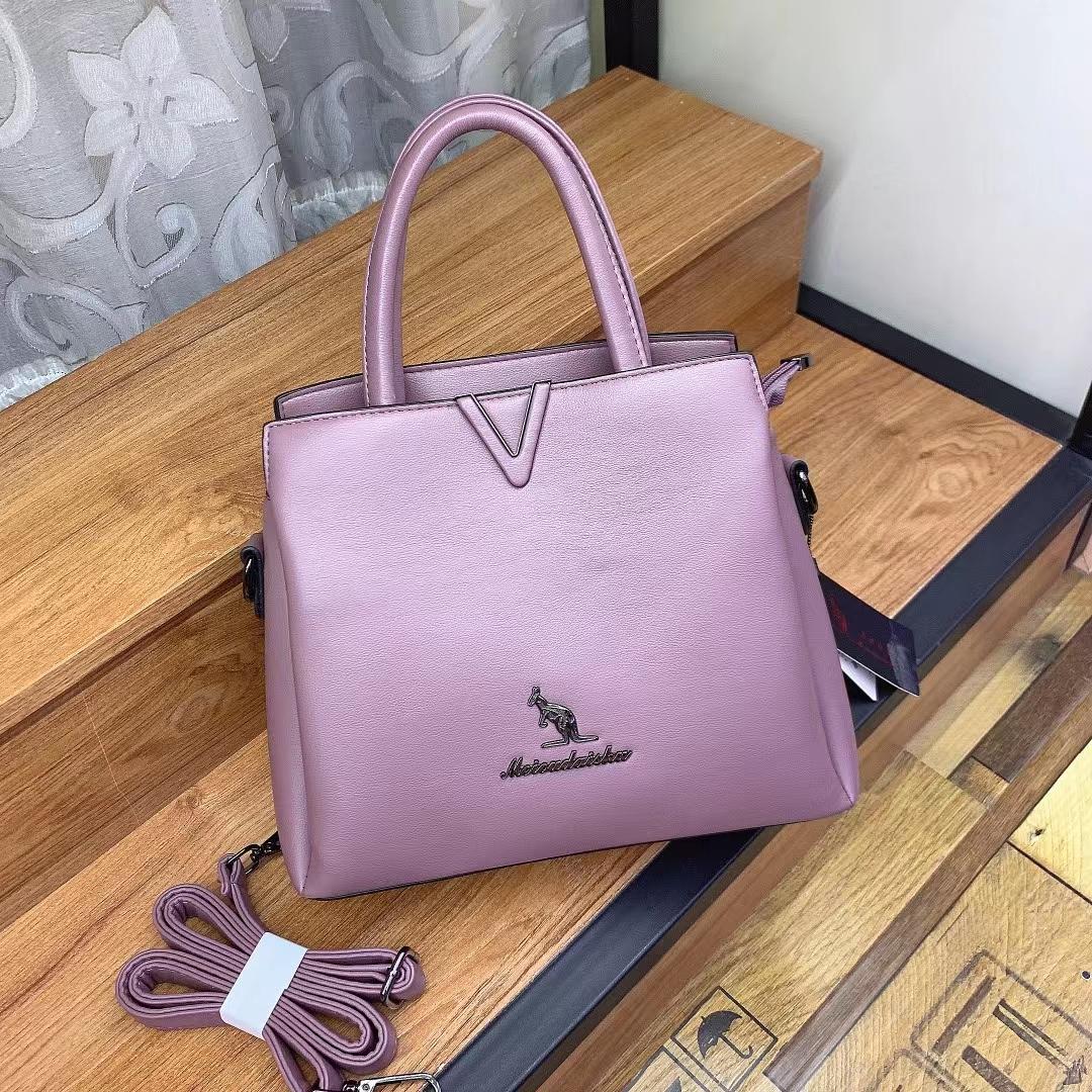 紫色水桶包 爆款水桶包2021新款托特包女士斜挎通勤包包大容量紫色妈妈手提包_推荐淘宝好看的紫色水桶包