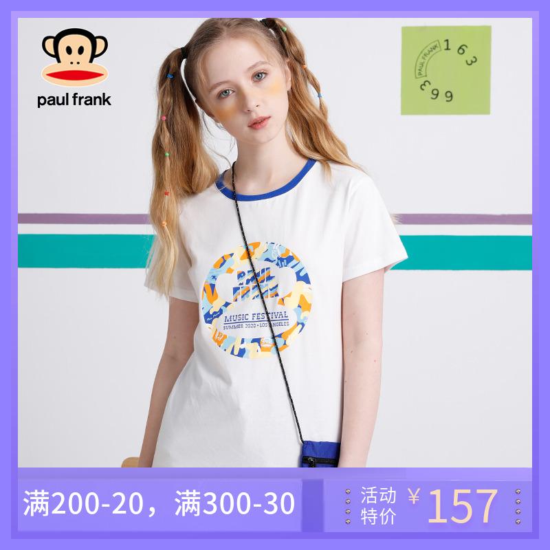 女士大嘴猴t恤 大嘴猴2020夏季新款短袖T恤女韩版印花圆领学生青春_推荐淘宝好看的女大嘴猴t恤