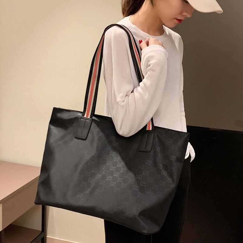 时尚手提包 包包女士大包春夏2020新款潮时尚单肩包手提托特包大容量简约欧美_推荐淘宝好看的女时尚手提包