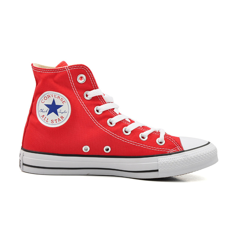 红色高帮鞋 Converse匡威All Star经典常青款高帮101013低帮101007红色帆布鞋_推荐淘宝好看的红色高帮鞋