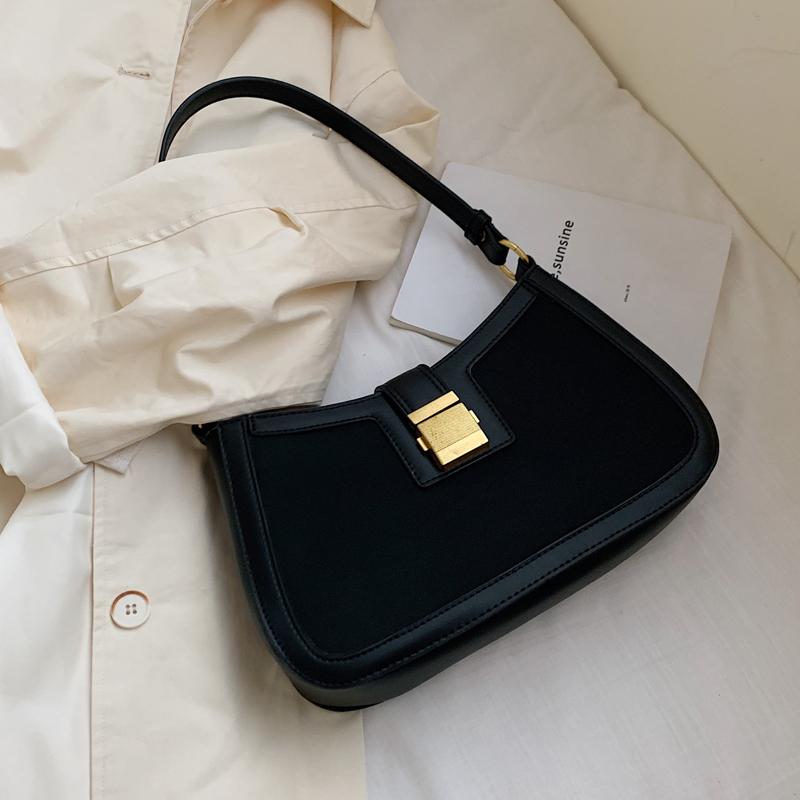 黄色手提包 网红洋气小包包女2020秋流行新款潮韩版百搭质感单肩包时尚手提包_推荐淘宝好看的黄色手提包