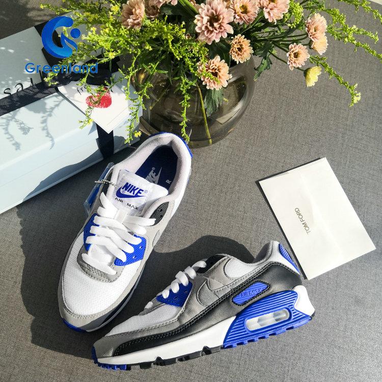 耐克老款运动鞋 Nike Air Max 90 女子运动休闲经典气垫缓震跑步鞋 CD0490-100_推荐淘宝好看的女耐克运动鞋