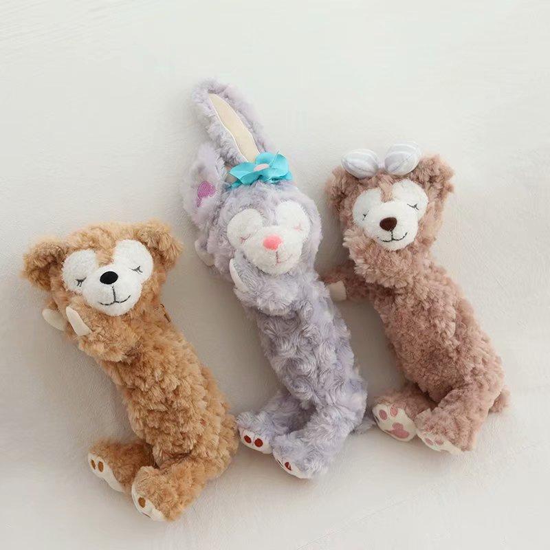 紫色迷你包 情侣熊化妆包紫色兔子笔袋小号便携小熊随身手拿迷你毛绒收纳袋包_推荐淘宝好看的紫色迷你包